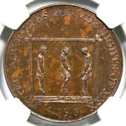 1796 Dandh-837 Ngc Ms 63 Bn Middlesex - Noted Eplain G. Brit Conder Token 1/2p