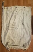 Antique Vintage Very Rare Us Usps Domestic Mail Bag/tare Wt 2.34 Lbs/large 1