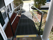16and039 Steel Mesh Handicap Ramp Wheelchair Scooter Adjustable - Local Pickup Se Ma.