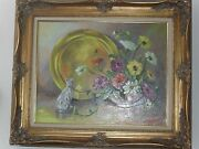 Amazing Original Oil Painting By Kennedy. 1950 -1969. Realism Signed Us