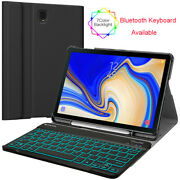 For Samsung Galaxy Tab S4 10.5 Case With 7 Color Backlight Bluetooth Keyboard