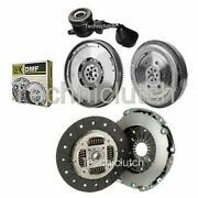 2 Part Clutch Kit And Luk Dmf With Csc For Fiat Ducato Bus 120 Multijet 2.3 D