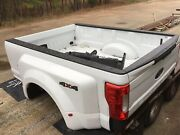 2018 Ford Super Duty Dually Bed White