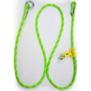 Rope Logicand039s Adjustable Friction Saver 5/8in 10ft Kmiii Green Arborist Rigging