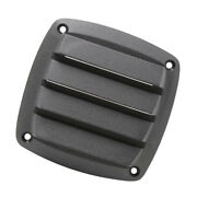 4 Inch Black Plastic Louvered Vents Marine Boat Yacht Hull Air Vent
