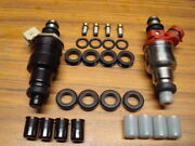 Fuel Injector O-ring Seal Filter And Pintle Cap Kit Fits Toyota Tacoma 22re