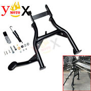 Black Motorcycle Centerstand Center Stand For Bmw G310 Gs G310gs 2017 2018 17 18
