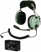 David Clark H10-13hxp Helicopter Enc Headset For Pilots