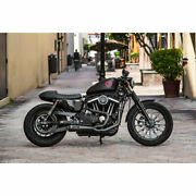 Two Brothers Black W/ Carbon 2-into-1 Comp-s Exhaust 2004-2013 Harley Sportster