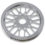 Drag Specialties 70t 1-1/8'' Chrome Mesh Rear Pulley 00-06 Softail 1201-0012