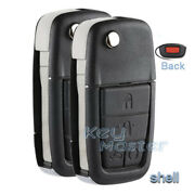 2x Replacement Remote Car Key Shell Case Fob For Chevrolet Pontiac G8 2008-2009