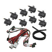 Holley Ignition Coil 556-128 Smart Coil Big Wire Black 44,000 Volts Coil Pack