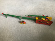 Vintage C.1920 - 1930 Distler Ess Dee And039over The Topand039 German Clockwork Car Toy