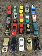 Lot Of 20 Hot Wheels 1/64 Die Cast Cars Free Shipping