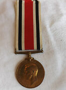 Military Wwii British Special Constabulary Police Medal Horace S.rayner 2234