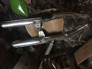 1972 Suzuki Gt350 Center Exhaust Pipes With Baffles Left Right