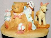 Cherished Teddies Christopher 950483 Old Friends Are The Best Friends-no Box