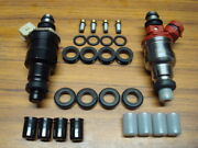 Toyota Corolla Mr2 4age 4agelc Fuel Injector O-ring Seal Filter And Pintle Cap Kit