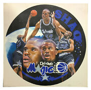 Terrence Fogarty Signed Original Shaquille Oand039neal Shaq Canvas Oil Painting 1/1