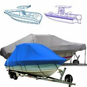 Marine T Top Boat Cover Fits A 26and0396 Boat With A 108 Beam Width.
