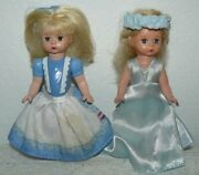 Madame Alexander Wizard Of Oz Dolls 5 From Mcdonald Lot Of 2