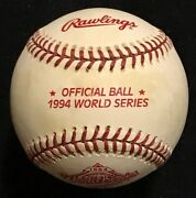 1994 Official World Series Baseball New In Box Mlb Vintage Authentic