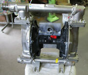 Graco Double Diaphragm Stainless Steel Ss316 Pump 651009 50 Gpm Used Take Out