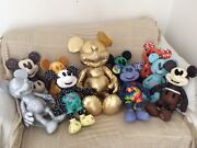 Mickey Mouse Memories Medium And Gold Collection Plush Large