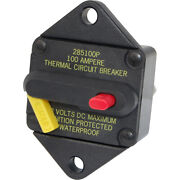 Blue Sea Systems 7086-bss 285-series 80 Amp Circuit Breaker Panel Mount