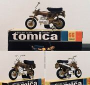Tomy Tomica Dax Honda Diecast 1/33 Scale No.66 Motorcycle Made In Japan Boxed