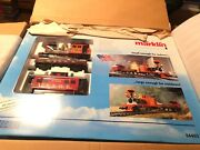 Marklin 54402 And039americanand039 Starter Set With 5473 Passenger Car Maxi G Scale