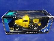Solido Die Cast 1936 Ford V8 Pick Up Truck Made In France 1/19th Scale Pennzoil