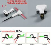 Universal 20pcs 0.3-0.5sqmm Automotive Electrical Wiring Joint Terminal Splice