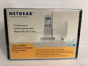 Netgear Dual Mode Cordless Phone With Skypesph200d New And Sealed