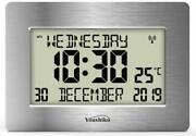 Radio Controlled Large Lcd Wall Clock For Dementia And Alzheimer Sufferers