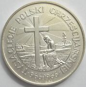 Rare Sterling Silver Coin Medal - Polish Government-in-exile. 96.8 Grams