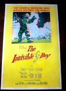 The Invisible Boy 1957 40 X 60 Us Movie Poster Pb