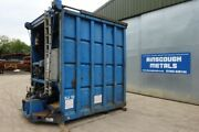 Blue Ejector Trailer C/w Ram Power Pack And Diesel Engine - Front Part Only - U