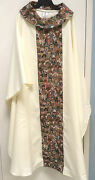 Chagall Designs Vestment Chasuble With Stole - 596 - Priest Robes Church
