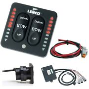 Lenco Marine 15270-001 Led Indicator Two-piece Tactile Switch Kit Pigtail