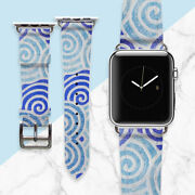 Apple Watch Marble Band Iwatch Traditional Leather Bracelet Smart Watch Strap