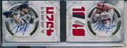 Mike Trout 1/1 Auto Kris Bryant Game Used Jersey Book 2018 Topps Luminaries