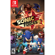 Sonic Forces Switch [brand New]