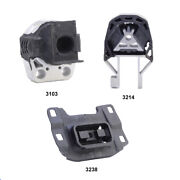 Rear Engine Mount, Front Engine Mount And Trans Mount Set 3pcs For Ford Focus 2.0l