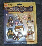 Pirates Battle Pack New Sealed Package Lego Minifigures W/ Assesories