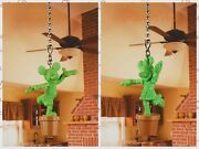 Minnie Mickey Mouse Plant Tree Ceiling Fan Pull Light Lamp Chain Decor K1272fg