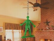 Toy Story Green Army Men Ceiling Fan Pull Light Lamp Chain Decoration K1293 E