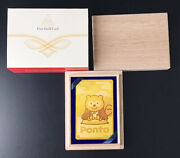 [not For Sale] Pure Gold Ponta Card Rare Pure Gold Card 0.5 G 999.9 By Ems K660