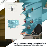 Ebay Store And Listing Auction Responsive Mobile Compliant With Free Logo Design