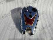 Ariel 4f Square Four British Motorcycle Gas Fuel Petrol Tank Red Painted
